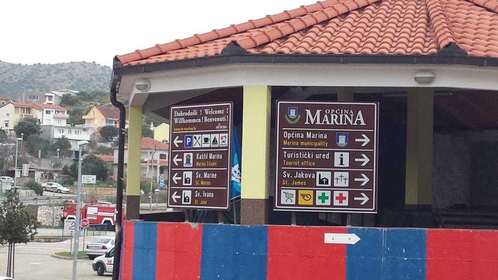 Smeđa signalizacija - Marina