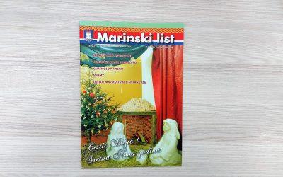 Marinski list – kronika Općine Marina, broj 07