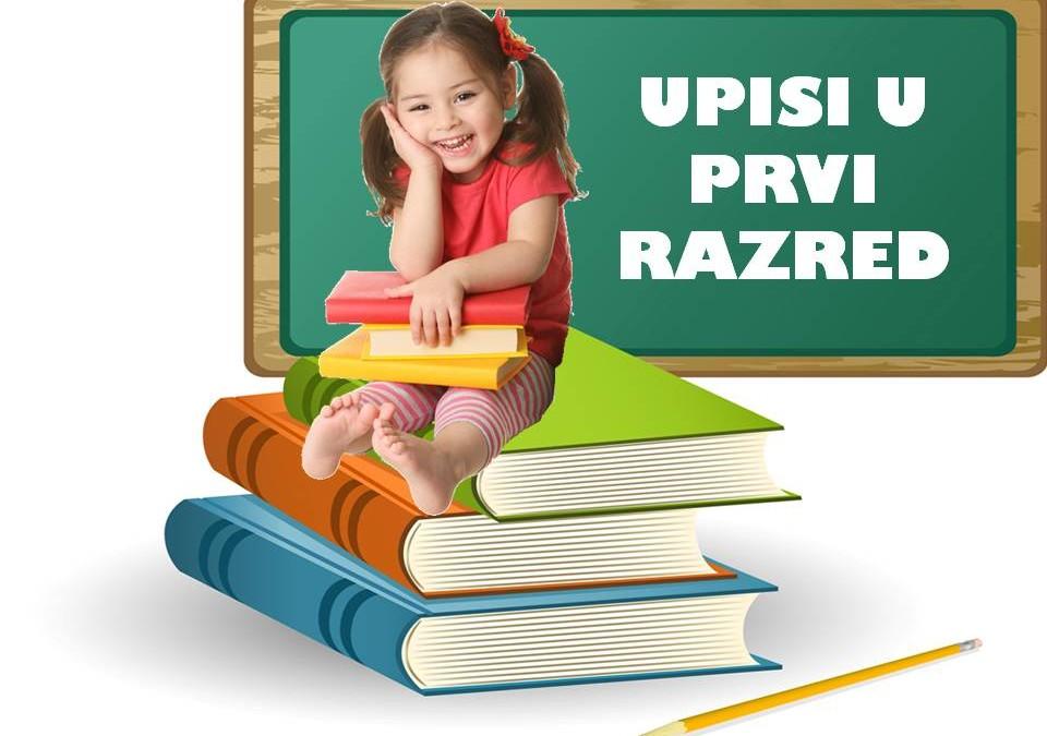 Obavijest o upisima djece u prvi razred osnovne škole za školsku godinu 2015./2016.