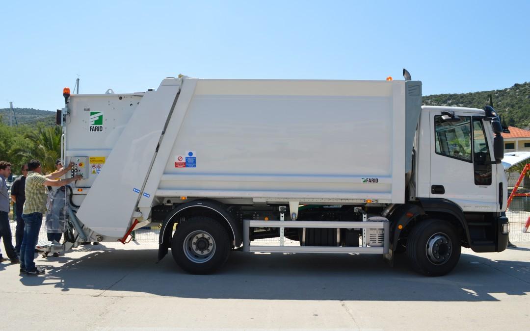 Obavijest o odvozu miješanog komunalnog otpada za mještane Sevida na Moru